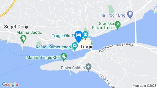 Hotel Pasike Map
