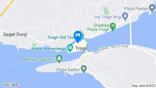 Guesthouse Ruzica Map