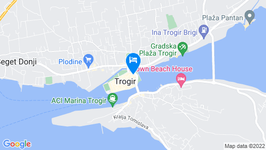 Bed and Breakfast Vanjaka Map