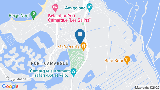 Vacancéole - Cap Camargue Map