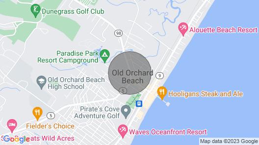 Old Orchard Beach Inn Map