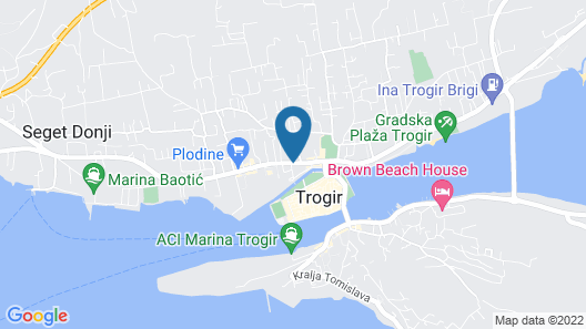 Hotel Bellevue Map