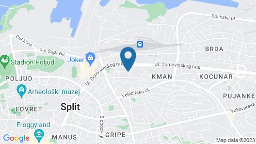 BB Residence Map