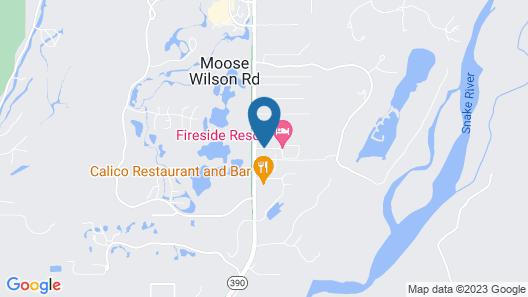 Fireside Resort Map