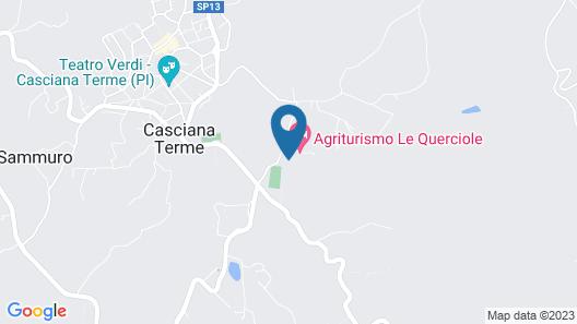 Agriturismo Le Querciole Map