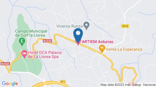 ARTIEM Asturias Map