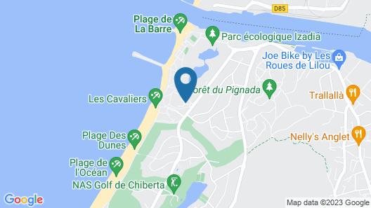 Hôtel Atlanthal Map