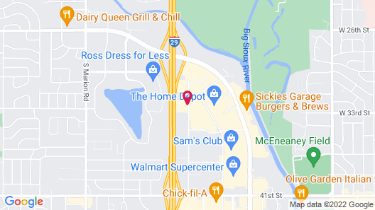 Staybridge Suites Sioux Falls, an IHG Hotel Map