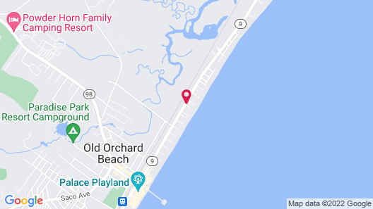 Alouette Beach Resort Map