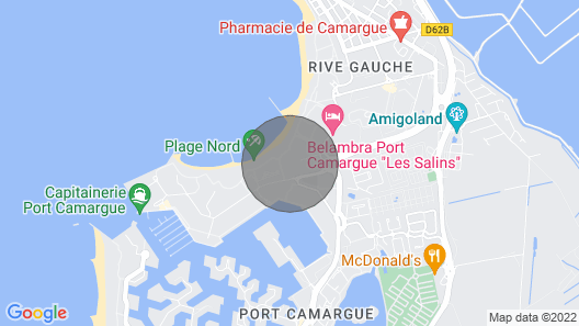 Apartment Escale Beach Port Camargue Map