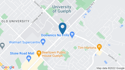 Delta Hotels by Marriott Guelph Conference Centre Map