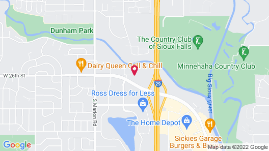 TownePlace Suites by Marriott Sioux Falls Map