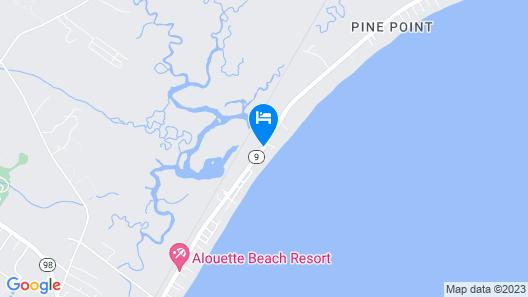 Ocean Walk Hotel Map