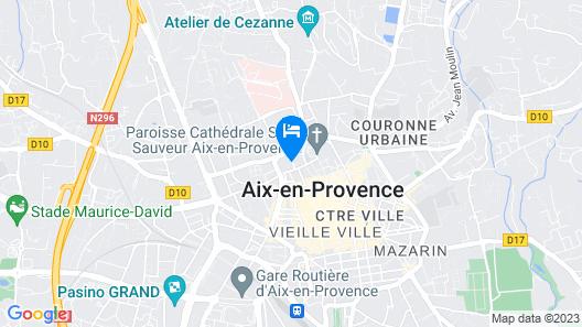 Hotel Aquabella Map