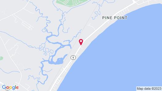 Grand Beach Inn Map