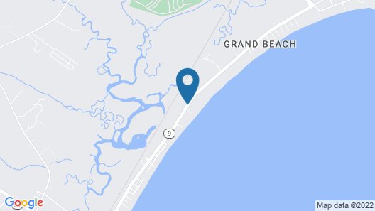 Grand Beach Inn Map