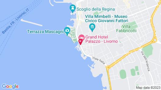 Grand Hotel Palazzo Livorno - MGallery Map