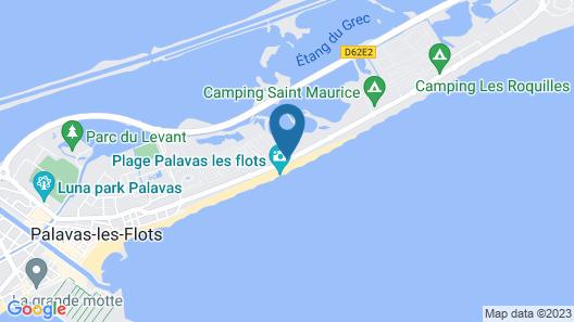 Hotel de la Plage Map