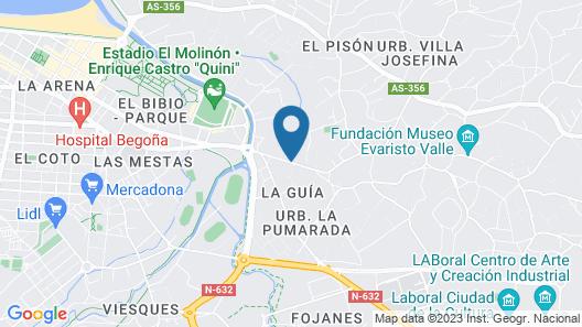 Albergue El Peregrín Map
