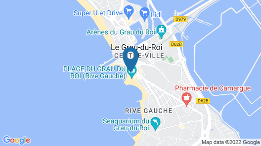 Splendid Hôtel Camargue Map