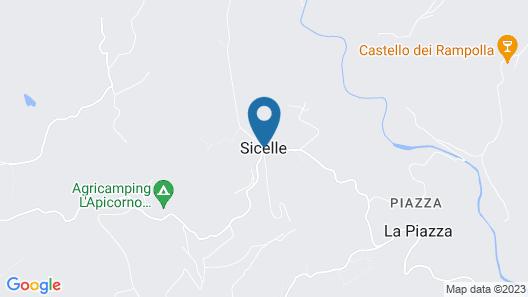 Borgo Sicelle Map