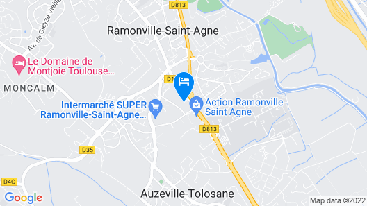 Comfort Hotel Toulouse Sud Map