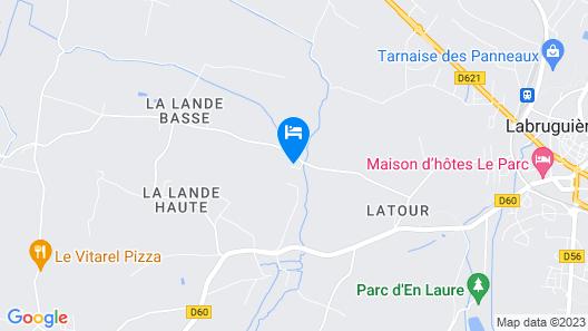 Chambres d'Hôtes Domaine d'En Baleux Map