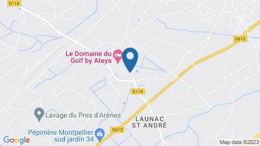 Le Domaine du Golf by Ateya Vacances Map