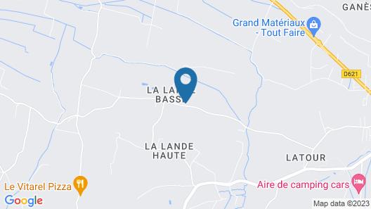 Gites Domaine d'En Baleux Map