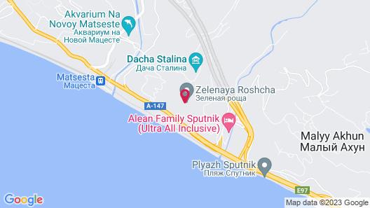 Rest Matsesta Hotel Map