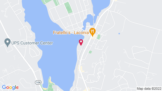 Lake Opechee Inn and Spa Map