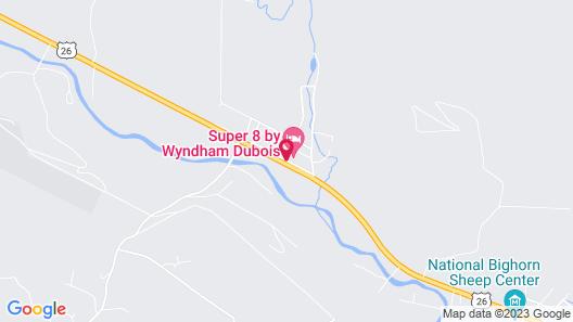Super 8 by Wyndham Dubois Map