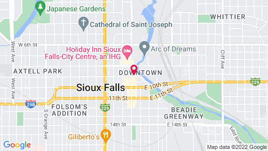 Hotel On Phillips Map