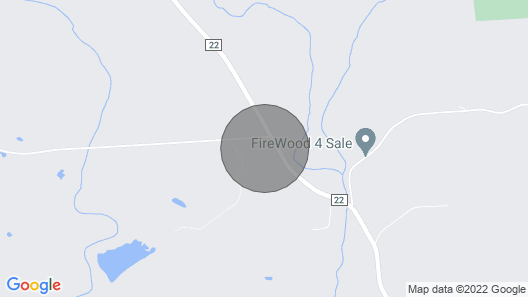 Minutes From Salmon River, On Snowmobile/ATV Trail, Fire Pit, WiFi, Grill, A/C Map