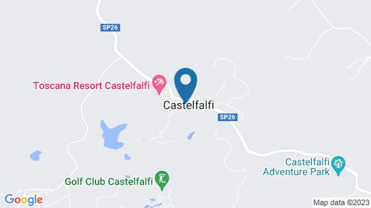 TOSCANA RESORT CASTELFALFI Map
