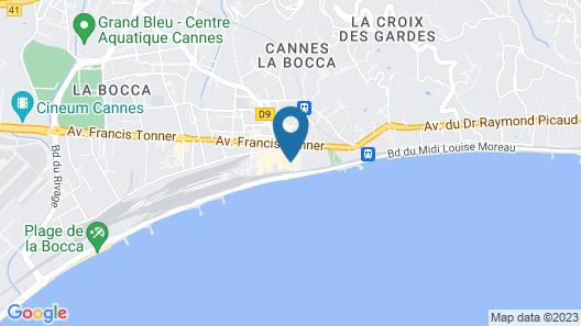 Residhotel Villa Maupassant Map