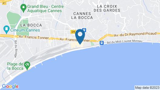 Résidence Pierre & Vacances Cannes Verrerie- Cannes Map
