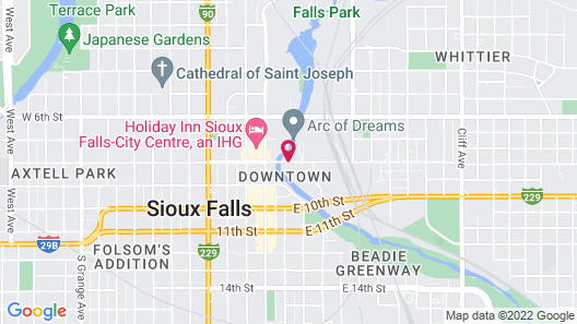 Country Inn & Suites by Radisson, Sioux Falls, SD Map
