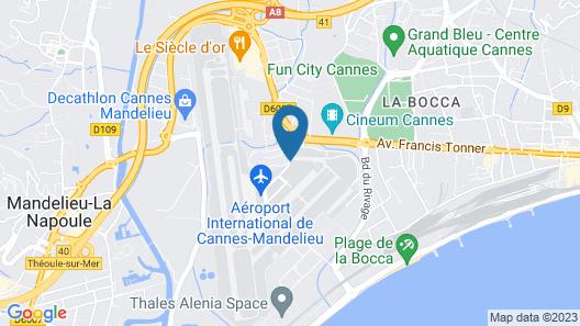 Campanile - Cannes Mandelieu Map