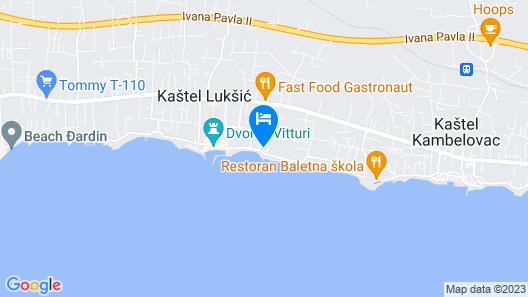 Hotel Villa Zarko Map