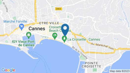 Residéal Premium Cannes - Apartments Map