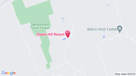 Steele Hill Resorts Map