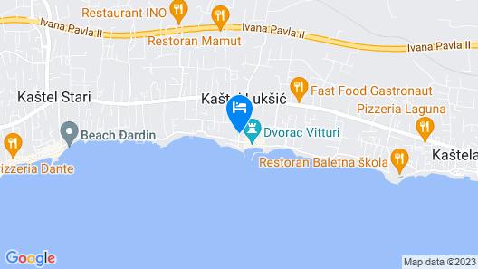 Rooms Vesna Map