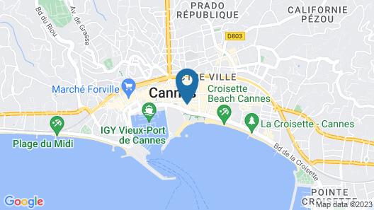 Villa d' Estelle Cannes Map