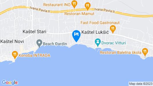 Hotel Stacija Map