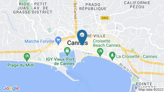 Hôtel Alizé Map