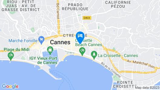 Hotel Le Florian Map