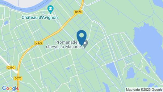 Mas du Menage en Carmargue Map