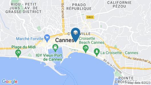 Hôtel Barrière Le Gray d'Albion Map