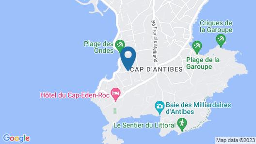 Villa Fabulite Map
